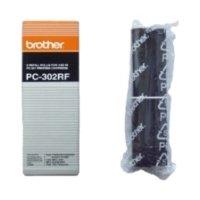 Farbband 2er Pack  Original Brother PC-302RF schwarz