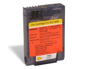 Druckerpatrone Kompatibel zu Canon BJI-643Y (1012 A 001) gelb