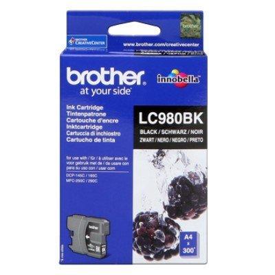Druckerpatrone Original Brother LC-980 BK schwarz