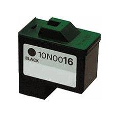 Druckerpatrone Kompatibel zu Lexmark 10N0016E (16/17) schwarz