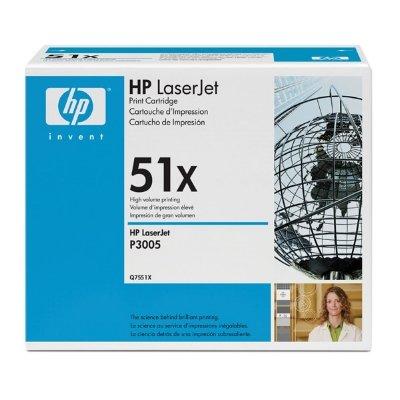 Toner Original HP Q7551X (51X) schwarz