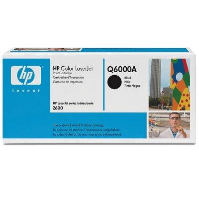 Toner Original HP Q6000A schwarz