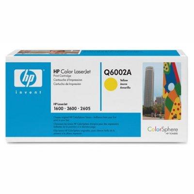 Toner Original HP Q6002A gelb