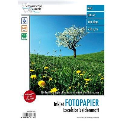 Fotopapier Excelsior DIN A4 seidenmatt, 100 Blatt, 230 g/m², 9600 dpi