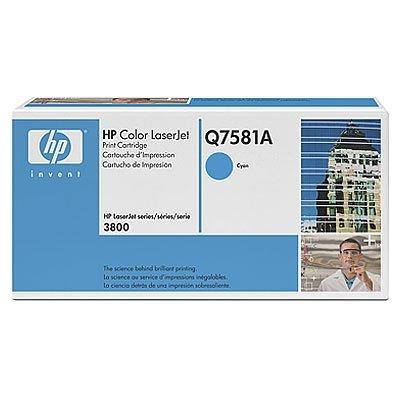 Toner Original HP Q7581A cyan