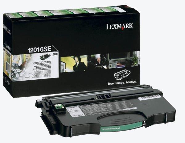 Toner Original Lexmark 12016SE Optra E120 schwarz