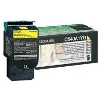 Toner Original Lexmark C540A1YG C 540 gelb