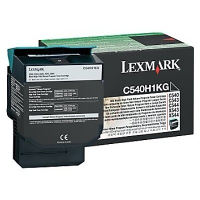 Toner Original Lexmark C540H1KG C 540 schwarz