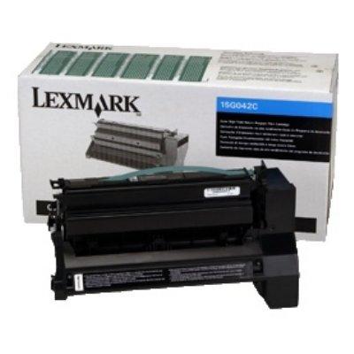 Toner Original Lexmark 15G042C C 760 cyan