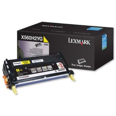 Toner Original Lexmark X560H2YG X560 gelb