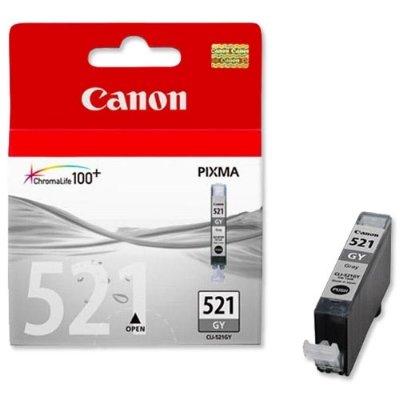 Druckerpatrone Original Canon CLI-521GY (2937 B 001) grau