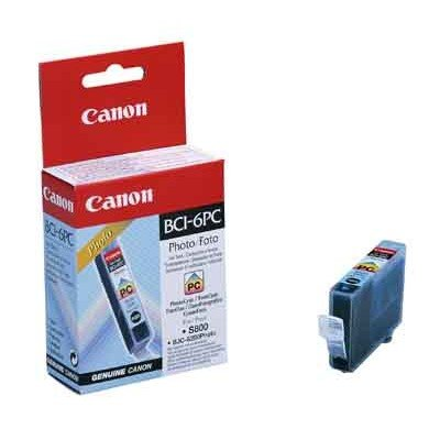 Druckerpatrone Original Canon BCI-6PC (4709 A 002) foto-cyan