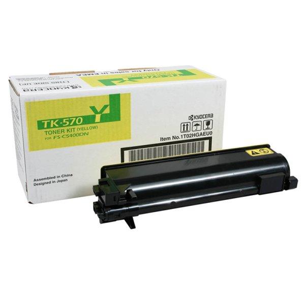 Toner Original Kyocera TK-570Y 1T02HGAEU0 gelb