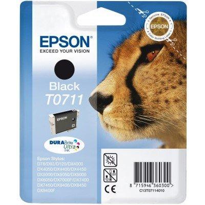 Druckerpatrone Original Epson T0711, C13T07114010 schwarz