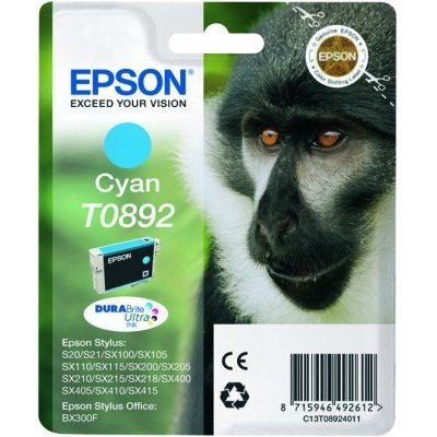 Druckerpatrone Original Epson T0892, C13T08924011 cyan