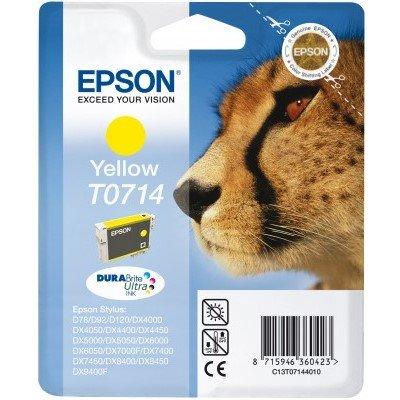 Druckerpatrone Original Epson T0714, C13T07144010 gelb