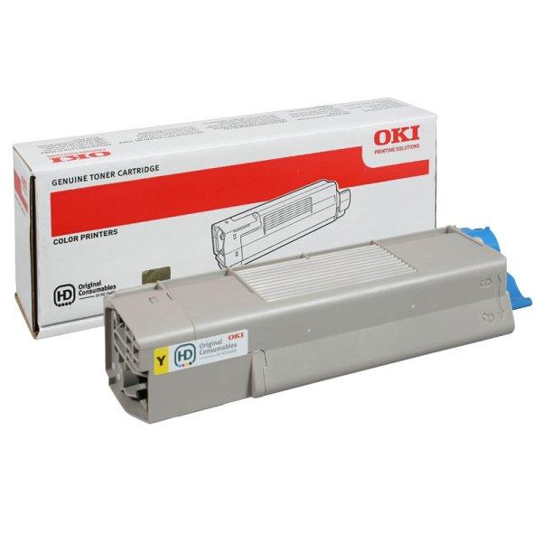 Toner Original OKI 44315305 C610 gelb