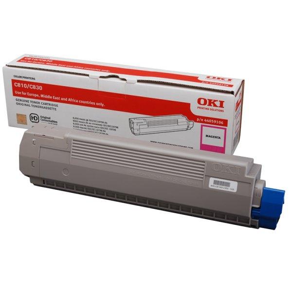 Toner Original OKI 44059106 C810 magenta