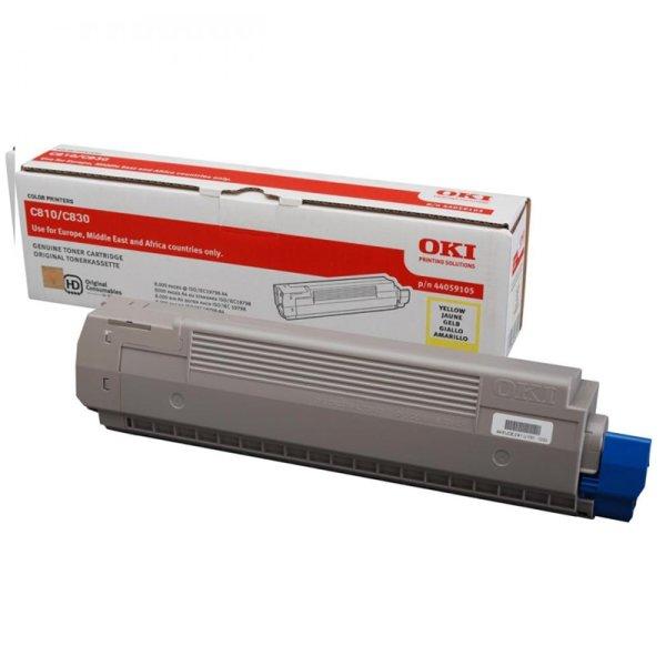 Toner Original OKI 44059105 C810 gelb