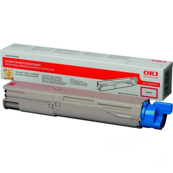 Toner Original OKI 43459330 C3300 magenta