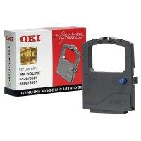 Original Farbband OKI 01126301 Schwarz