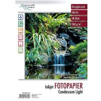 Fotopapier Candescum DIN A4 beidseitig, glossy,48 Blatt,...