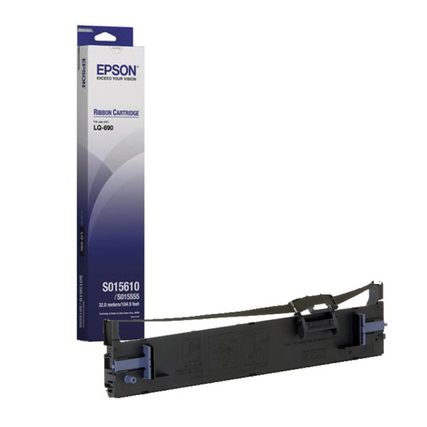 Original Farbband Epson C13S015610 Schwarz