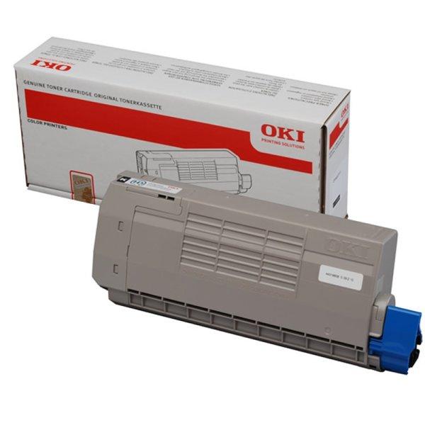 Toner Original OKI 44318608 C710 schwarz