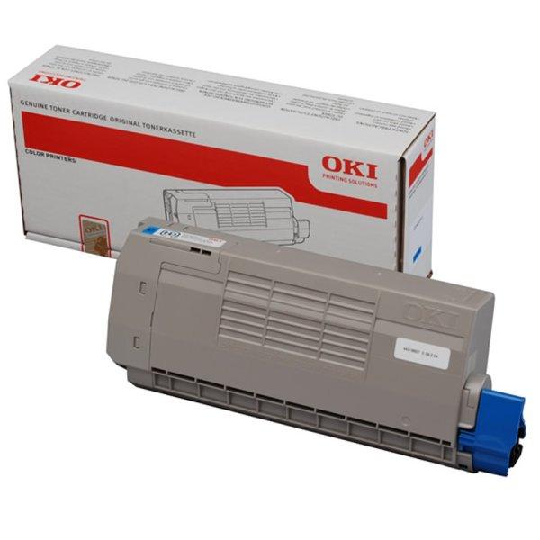 Toner Original OKI 44318607 C710 cyan