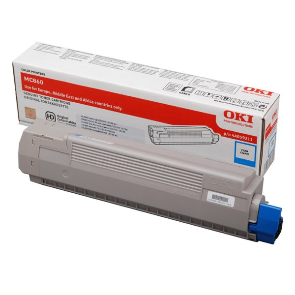 Toner Original OKI 44059211 MC860 cyan