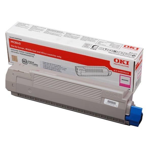 Toner Original OKI 44059210 MC860 magenta