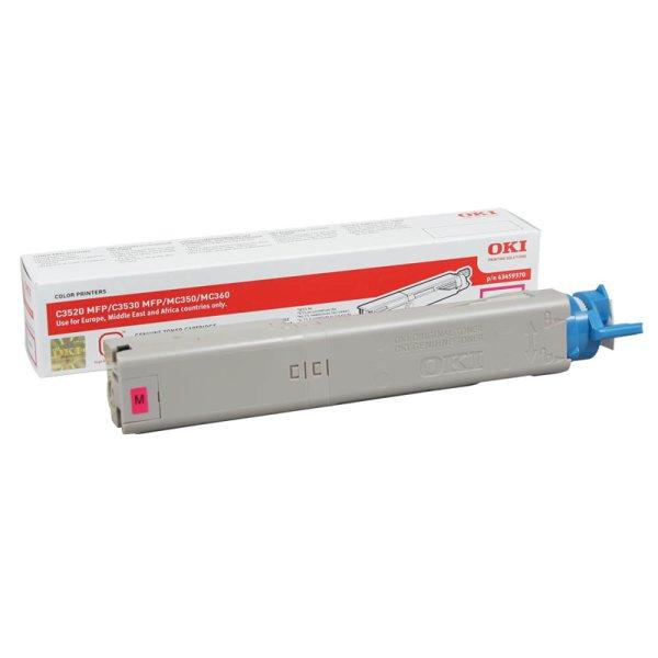 Toner Original OKI 43459370 C3520 magenta