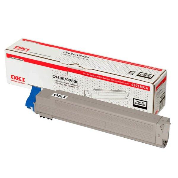Toner Original OKI 42918916 C9600 schwarz
