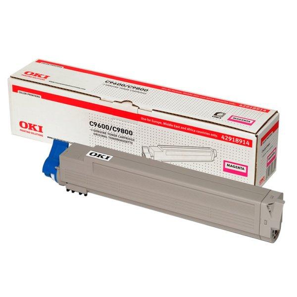 Toner Original OKI 42918914 C9600 magenta