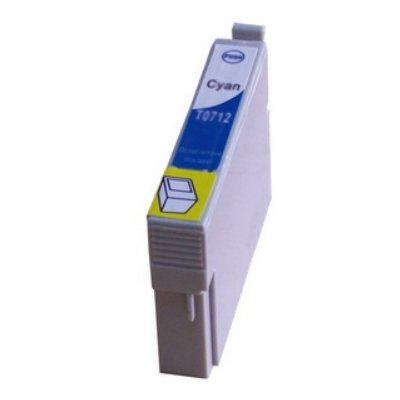 Druckerpatrone Kompatibel zu Epson T0712, C13T07124010 cyan