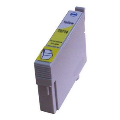 Druckerpatrone Kompatibel zu Epson T0714, C13T07144010 gelb
