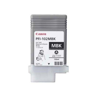 Druckerpatrone Original Canon PFI-102MBK (0894 B 001) matt-schwarz