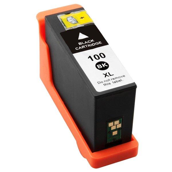 Druckerpatrone Kompatibel zu Lexmark 14N1068E (100XL) schwarz