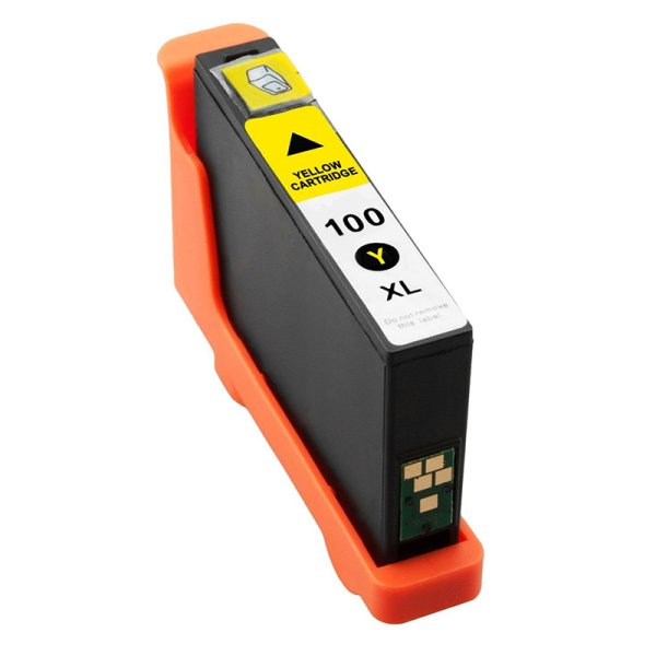 Druckerpatrone Kompatibel zu Lexmark 14N1071E (100XL) gelb