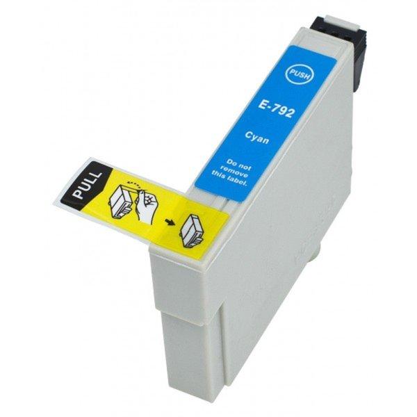 Druckerpatrone Kompatibel zu Epson T0792, C13T07924010 cyan