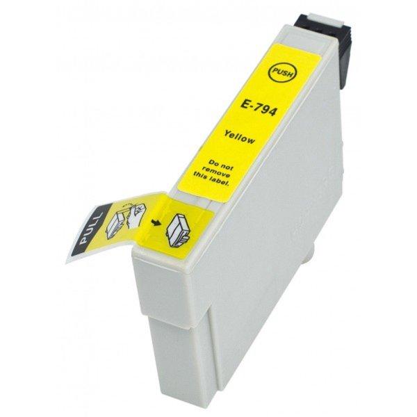 Druckerpatrone Kompatibel zu Epson T0794, C13T07944010 gelb