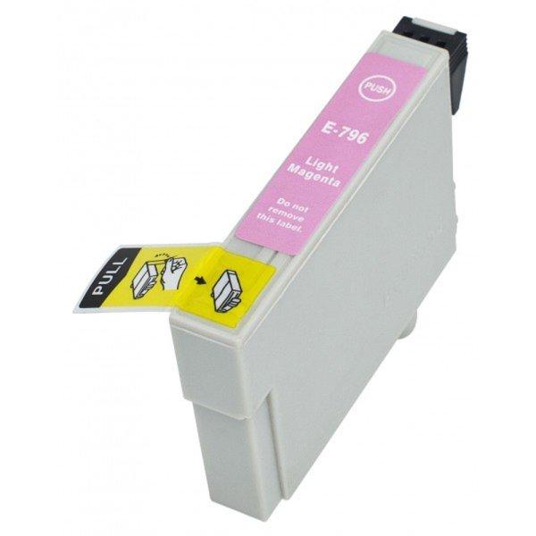 Druckerpatrone Kompatibel zu Epson T0796, C13T07964010 foto-magenta