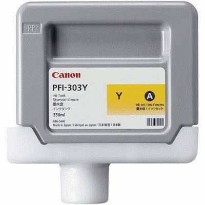 Druckerpatrone Original Canon PFI-303Y (2961 B 001) gelb