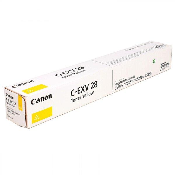 Toner Original Canon CEXV-28 Y (2801 B 003)  gelb