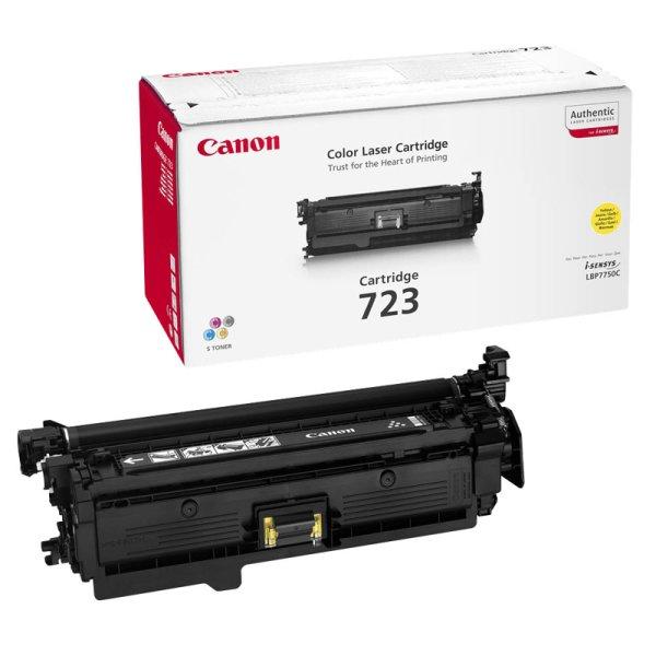 Toner Original Canon 723Y (2641 B 002) gelb