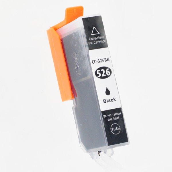 Druckerpatrone Kompatibel zu Canon CLI 526BK (4540 B 001) foto-schwarz