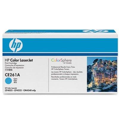 Toner Original HP CE261A (648A) cyan