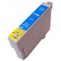 Druckerpatrone Kompatibel zu Epson T0802, C13T08024010 cyan