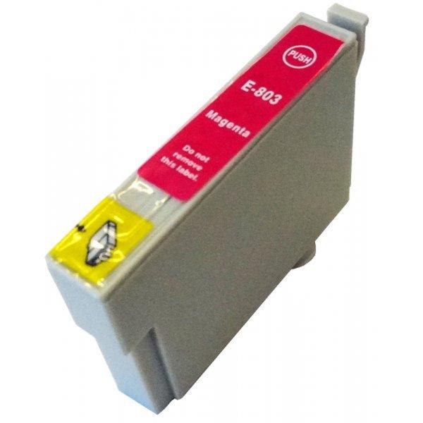 Druckerpatrone Kompatibel zu Epson T0803, C13T08034010 magenta