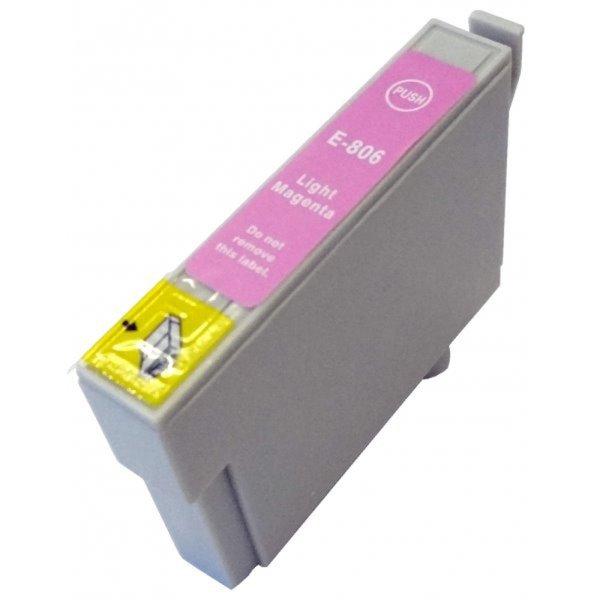 Druckerpatrone Kompatibel zu Epson T0806, C13T08064010 foto-magenta